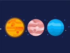 Planets Set No.2 shared via https://chrome.google.com/webstore/detail/design-hunt/ilfjbjodkleebapojmdfeegaccmcjmkd?ref=pinterest