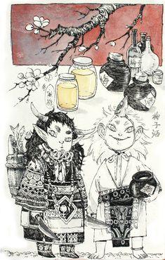 2012.12.18 Winter Miscellany -. Rice - Grotesque Tour - Zao Dao