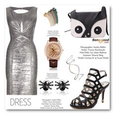 """""""banggood"""" by angelstar92 ❤ liked on Polyvore featuring Hervé Léger and Gucci"""