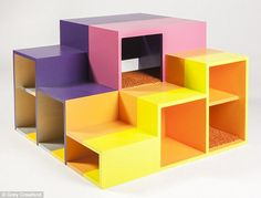Lego shelter: Wolcott Architecture's 'Kitty La Tourelle' is inspired by an installation from artist and architect Rodney La Tourelle