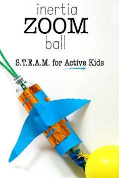 Inertia Zoom Ball: Super Fun S.T.E.A.M. Project!