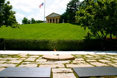 11. The Arlington Cemetery is mostly known for the graves of the Kennedys. But at the top of the hill, you can also enjoy a magnificent view on DC - http://www.arlingtoncemetery.mil/