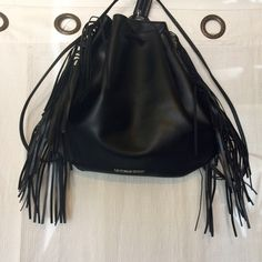 NWT fringe backpack from Victoria Secret New with tags fringed backpack from Victoria Secret Victoria's Secret Bags Backpacks