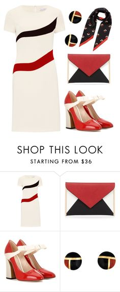 """""""Try everything"""" by agonyfeelsgood ❤ liked on Polyvore featuring Gina Bacconi, Red Herring, Gucci, Marc Jacobs, colorblock, gucci, marcjobs, GinaBacconi and redherring"""