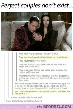 6 Reasons Why Morticia And Gomez Addams Are An Awesome Couple…