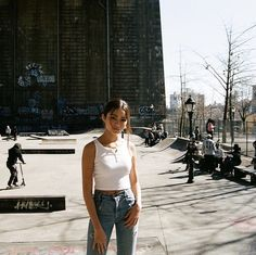 Skater Girl Outfits, Teen Girl Outfits, Skater Girls, Mabel Chee, Lily Chee, Look, Camisole Top, Celebs, Fashion Outfits