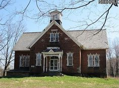 1870 School - Alliance, Ohio - Sold. I love this house! I used to pass it all the time. I'm seriously bummed. I didn't know it was for sale.