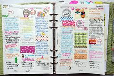 1. weekshow of March: filofax A5 vertical WO2P | Flickr - Photo Sharing!