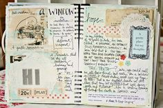 Journaling. Love the Layout and decorations