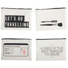 Makeup pung   Boarding pass