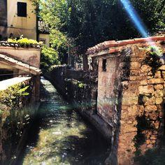 #pioraco #acqua #raggio di #sole #luce
