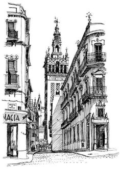 173 Best City Drawing Images City Drawing City Painting Draw