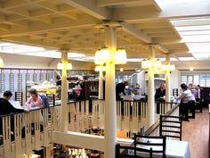 The Sauchiehall Street Willow Tearooms in Glasgow, Scotland