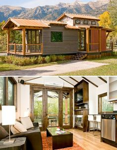 Downsizing to a smaller home doesn't have to mean living in a flimsy prefab, inhaling toxic chemicals from cheap synthetic components. It also doesn't have to be quite so extreme as moving into a tiny house the size of a shed. High quality, handcrafted small houses like those made by Wheelhaus don't skimp on quality, and they're so well designed, they don't feel all that small.