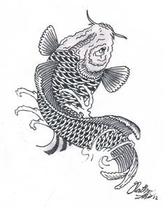 koi fish drawing mehndi style designs pinterest koi fish drawing and koi. Black Bedroom Furniture Sets. Home Design Ideas