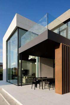 Contemporary house in Pestovo by Aleksandra Fedorova - CAANdesign