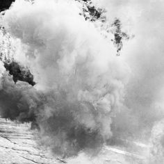 """"""" When the waves are flooding the shore and I  Can't find my way home anymore  That's when I look at you. """" - When I Look At You, Miley Cyrus. #photo #nature #blackwhite  #smoke #car #music #song #whenilookatyou  #mileycyrus"""