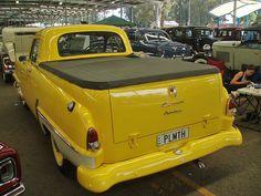 1956 Plymouth Savoy coupe utility (Australian)