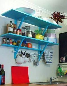 estante alacena de cocina estanteria alacena con barral