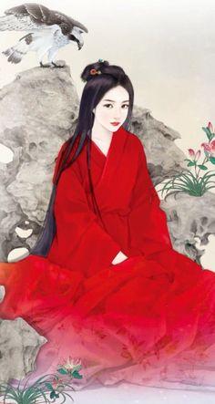Check your daily horoscope here. Japanese Painting, Chinese Painting, Japanese Art Modern, Samurai Artwork, Geisha Art, Art Asiatique, Asian Tattoos, Art Japonais, Painting Of Girl