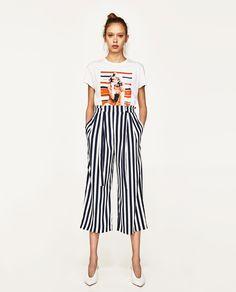 Imagine 1 din PANTALONI TIP CULOTTE de pe Zara