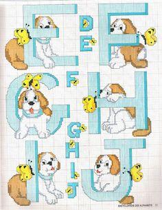 dog ABCs Gallery.ru / Фото #101 - монограммы - 123456TG