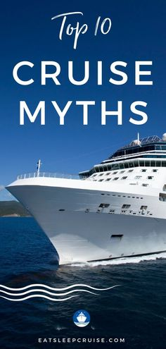 It's time to debunk the top 10 cruise myths. Once you sort through the fake news, you might be ready to book a cruise! We compare myths vs reality. so you don't have to believe the scary stories. Packing List For Cruise, Cruise Tips, Cruise Travel, Cruise Vacation, Packing Tips, Cruise Excursions, Cruise Destinations, Family Destinations, Bahamas Cruise
