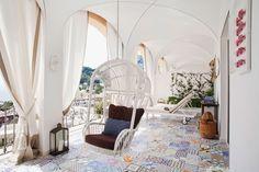 Capri Tiberio Palace Hotel - Terrace suite - Luxurious bedrooms and suites in hotel in Capri - Boutique hotel Capri
