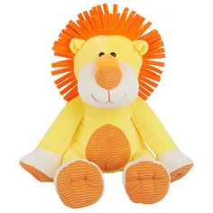 "Babies R Us Plush 16 inch Bright Sitting Jungle Lion - Yellow - Babies R Us - Toys ""R"" Us"