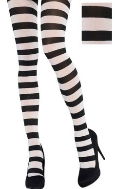 e5a2a1a52f856 22 Best Striped tights images | Tights, Socks, Black Stockings