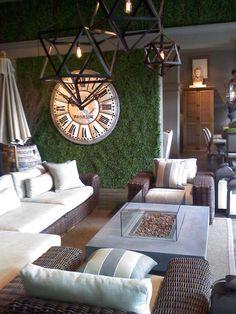 alice in wonderland room decor ideas | Alice in Wonderland living room. Could work indoor or outdoor!