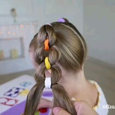 Hairfy Club - The Hair & Beauty Magazine Baby Girl Hairstyles, Princess Hairstyles, Braided Hairstyles, Amazing Hairstyles, Girl Hair Dos, Hair Upstyles, Crazy Hair Days, Natural Hair Styles, Long Hair Styles
