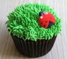 Ladybug Edible Sugar Decorations for Cupcake and Cake Decorating