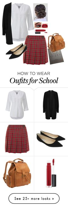 """""""plaid in the city"""" by lexiwirth21 on Polyvore featuring Pure Collection, Topshop, Donna Karan, Jimmy Choo, Le Donne, John Lewis, contestentry and NYFWPlaid"""