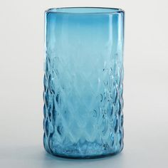 One of my favorite discoveries at WorldMarket.com: Turquoise Maya Recycled Tumbler, Set of 2