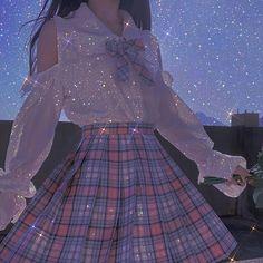 Kawaii Fashion, Cute Fashion, Fashion Outfits, Fairytale Dress, Fairy Dress, Pretty Outfits, Pretty Dresses, Cute Outfits, Glitter Outfit