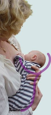 Website with breast feeding tips and handouts