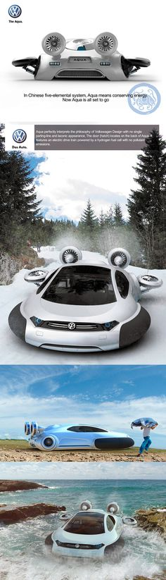 ♂ Have Aqua, Will Hover: New VW Concept from China