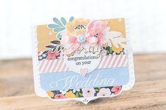 Wedding Congrats - Papertrey Ink Challenge - Paper Girl Crafts