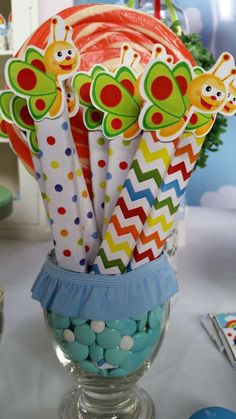 Rainbows Birthday Party Ideas   Photo 3 of 8