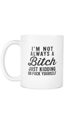 Most Hilarious Mugs For The Coffee Addict – Sarcastic ME Funny Coffee Mugs, Coffee Humor, Funny Mugs, Funny Gifts, Prank Gifts, Clever Quotes, Funny Quotes, Humorous Sayings, Sarcastic Jokes