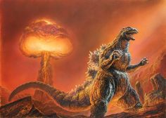 Godzilla can survive just about ANYTHING
