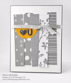 Alternate idea for Stampin' Up! Paper Pumpkin Dec 2016 Kit Another Great Year shared by Dawn Olchefske #dostamping