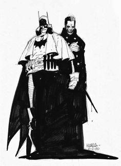 "joker-ka: ""by Mike Mignola "" Comic Book Artists, Comic Artist, Comic Books Art, Top Artists, Joker Dc Comics, Horror Comics, Knight Art, Dark Knight, Mike Mignola Art"