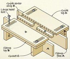 Столярные инструменты и приспособления