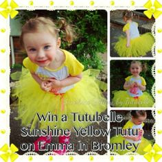 Emma in Bromley: Win a Beautiful Sunshine Tutu from Tutubelle closes 31.05.14 UK only #competition #win