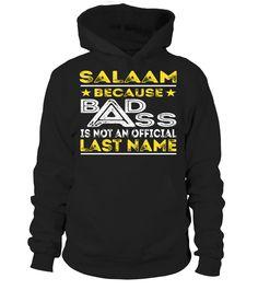 SALAAM - Badass #Salaam
