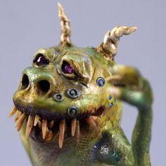 Monster Sculpture Art Doll