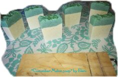Ο ΝΕΡΑΙΔΟΚΗΠΟΣ της Eλενης-Aντζελινας!/Χειροποιητα σαπουνια-καλλυντικα/ΕLENI'S FAIRY GARDEN: ''Cucumber-Melon soap''by Eleni