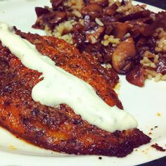 This Oven Blackened U. Farm-Raised Catfish is perfect for and suitable for all ages! Cajun Catfish Recipe, Baked Catfish Recipes, Baked Shrimp, Baked Fish, Baked Salmon, Garlic Shrimp, Oven Baked, Entree Recipes, Low Carb Recipes